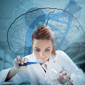Scientist-pouring-liquid-brain-background